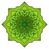 绿色八针对性的坛场 库存照片