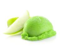 绿色冰淇凌瓢 免版税库存照片
