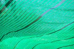 绿色净阴影 免版税库存图片