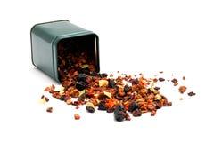 绿色分散茶 免版税图库摄影