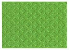 绿色压印的纸张 免版税库存照片