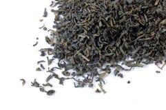 绿色叶子茶 免版税图库摄影