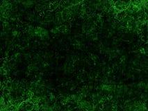 绿色和黑色Grunge花卉背景 免版税库存图片