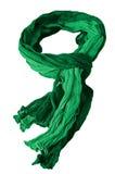 绿色围巾 图库摄影