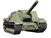 绿色坦克 库存图片