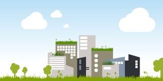 绿色城市 免版税图库摄影