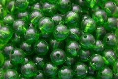 绿色塑料大理石 库存照片