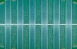 绿色塑料纹理背景 免版税库存图片
