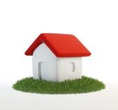 绿色大厦概念 库存例证