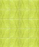 绿色大理石模式瓦片 免版税图库摄影