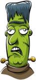 绿色妖怪 库存例证