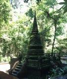 绿色寺庙 免版税库存照片