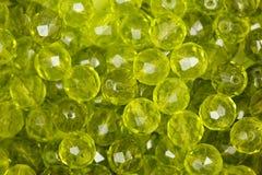 绿色小珠 纹理 喂res照片 库存图片