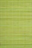 绿色席子安排表 免版税图库摄影