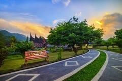 绿色庭院西部苏门答腊岛 免版税图库摄影