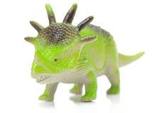 绿色戟龙玩具 免版税库存图片