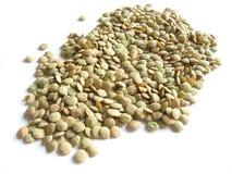 绿色扁豆 免版税库存图片