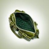 绿色手袋 库存照片