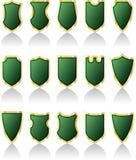 绿色护罩 库存照片