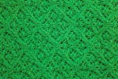 绿色抽象纹理,背景 绿色de的被编织的纹理 库存照片