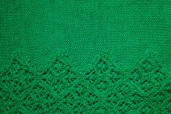 绿色抽象纹理,背景 绿色de的被编织的纹理 库存图片