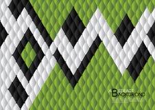绿色抽象背景传染媒介例证,盖子模板布局,企业飞行物,皮革纹理豪华 皇族释放例证