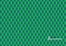 绿色抽象背景传染媒介例证,盖子模板布局,企业飞行物,皮革纹理豪华 向量例证