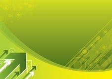 绿色抽象背景 免版税库存照片