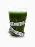 绿色损失有机圆滑的人重量 库存图片