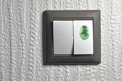 绿色接触 图库摄影