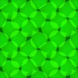 绿色摘要离开无缝的传染媒介样式 绿色叶子rep 图库摄影