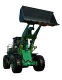 绿色新的拖拉机 免版税图库摄影