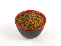 绿色日本茶 免版税库存图片