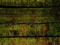绿色木头 免版税库存图片