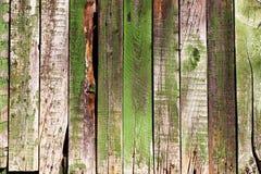 绿色木groung背景 免版税库存照片