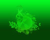 绿色本质和生态Backround 免版税库存照片
