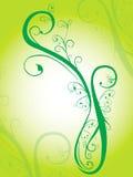 绿色本质装饰品 皇族释放例证