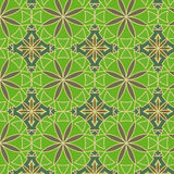 绿色柠檬模式无缝的向量 库存照片