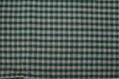 绿色格子花呢披肩 免版税图库摄影