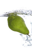 绿色梨 免版税库存照片
