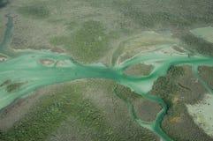 绿色水 免版税库存照片