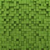 绿色求背景的立方 皇族释放例证