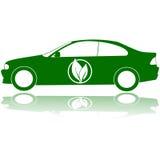 绿色汽车 免版税图库摄影