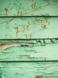 绿色油漆纹理 免版税图库摄影