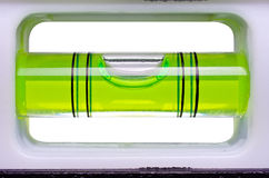 绿色泡影级别 库存照片