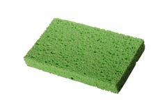 绿色海绵 免版税库存照片
