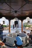 绿色清真寺在伯萨 库存图片