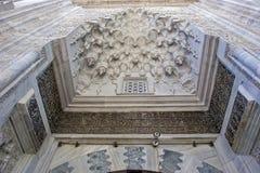 绿色清真寺,土耳其'耶西尔camii的'伯萨,土耳其 免版税图库摄影