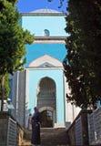 绿色清真寺 免版税库存照片