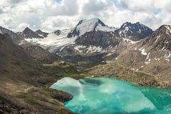 绿色湖丙氨酸Kol 图库摄影